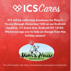 ICS Cares - Mom's House
