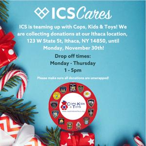 ICS Cares - Cops, Kids & Toys
